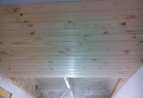 Обшивка потолка 3