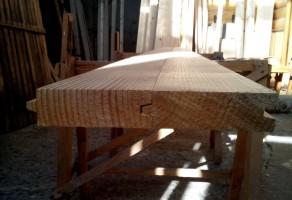 Доска пола (половая доска) 35×125мм — 270 грн.
