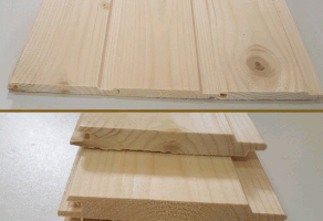 Вагонка (сосна, смерека) короткая 13×90мм — 90 грн/м2