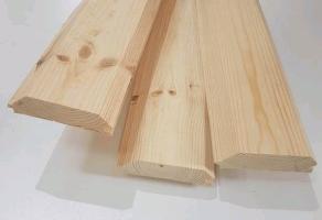 Имитация бруса (фальш брус) наружный — 30×160мм — 280 грн/м2