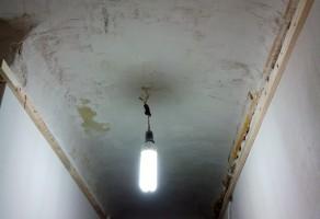 До обшивки потолка 2