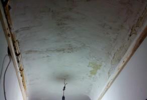 До обшивки потолка 3