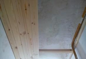 Обшивка потолка 1